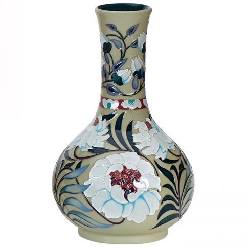 Chrysanthemums (Sage)  347/9 Vase by Moorcroft