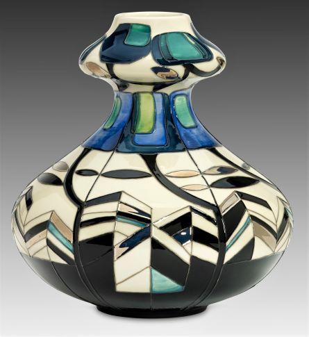 Gramina 444/9 Vase by Moorcroft