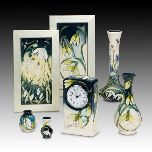 Snowdrop Sensation Collection by Moorcroft