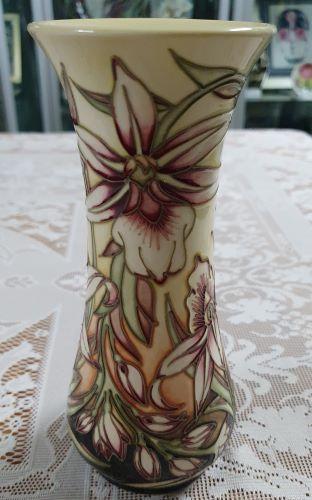 Sunderland 8 inch vase by Moorcroft